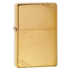 Зажигалка ZIPPO 1937 Vintage™ с покрытием Brushed Brass, медь/сталь, 36x12x56мм/240